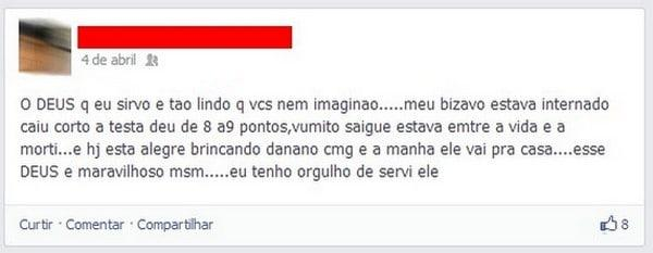 As piores perolas do Facebook